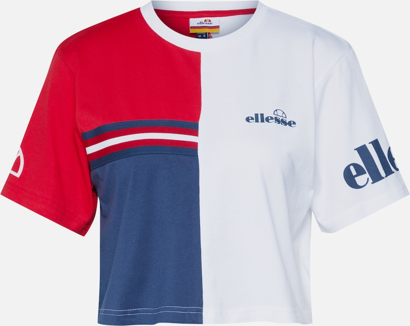 ELLESSE Shirt 'ESSERE' in de kleur Wit, Productweergave