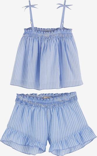 Scotch R'Belle Schlafanzug in rauchblau / weiß, Produktansicht