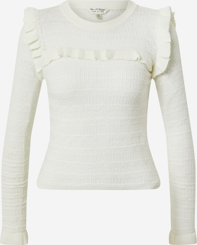 Miss Selfridge Pullover 'PRETTY PNTELLE FRILL' in elfenbein, Produktansicht