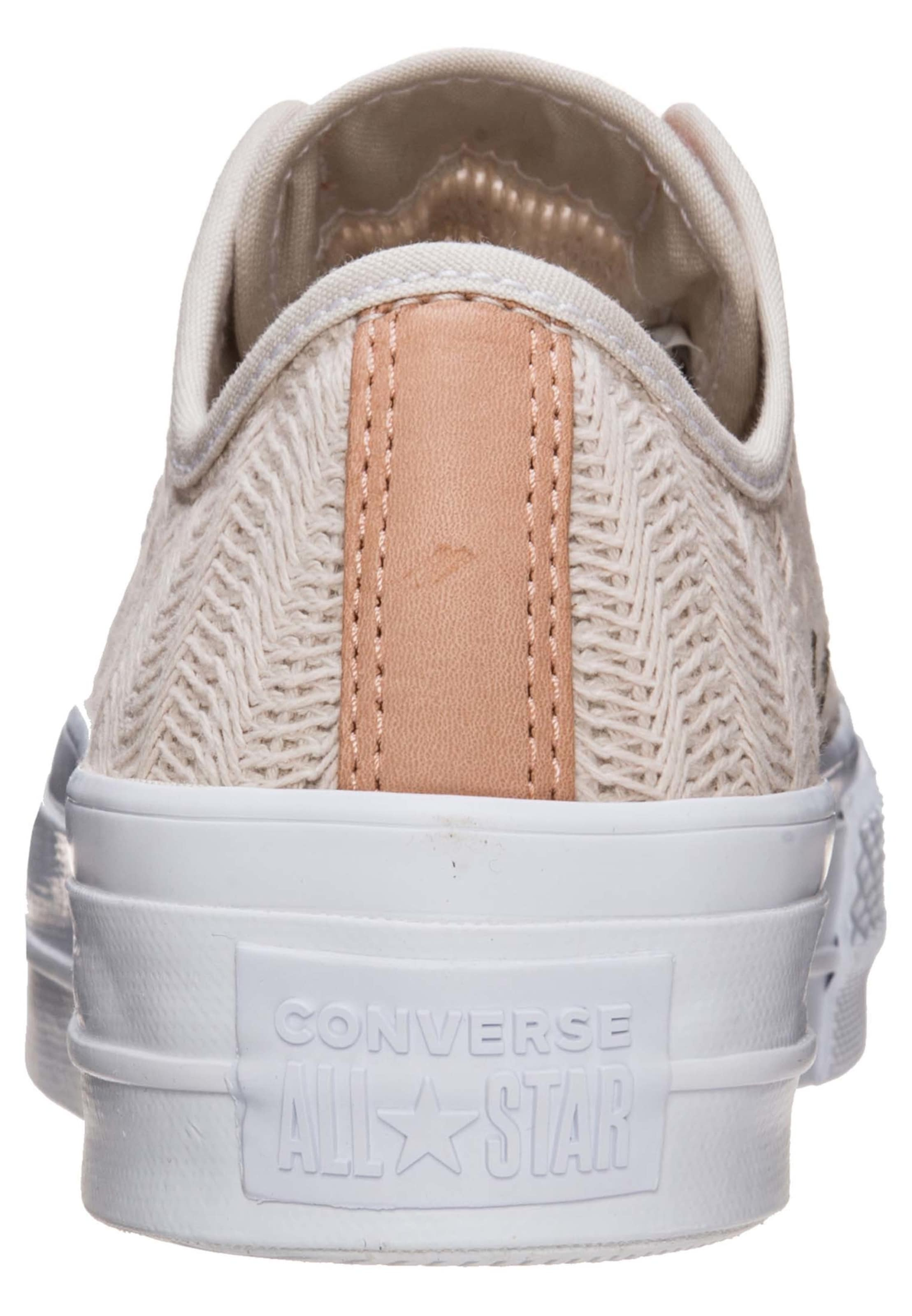 Ox' En All Taylor Converse Beige Baskets Lift 'chuck Basses Star wm80nOvN