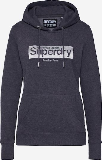 Superdry Sweatshirt 'PREMIUM BRAND EMB BOX ENTRY HOOD' in de kleur Grijs, Productweergave
