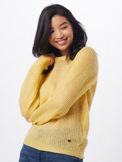 Blend She Pullover 'BSLACSIN L PU' in gelb, Modelansicht