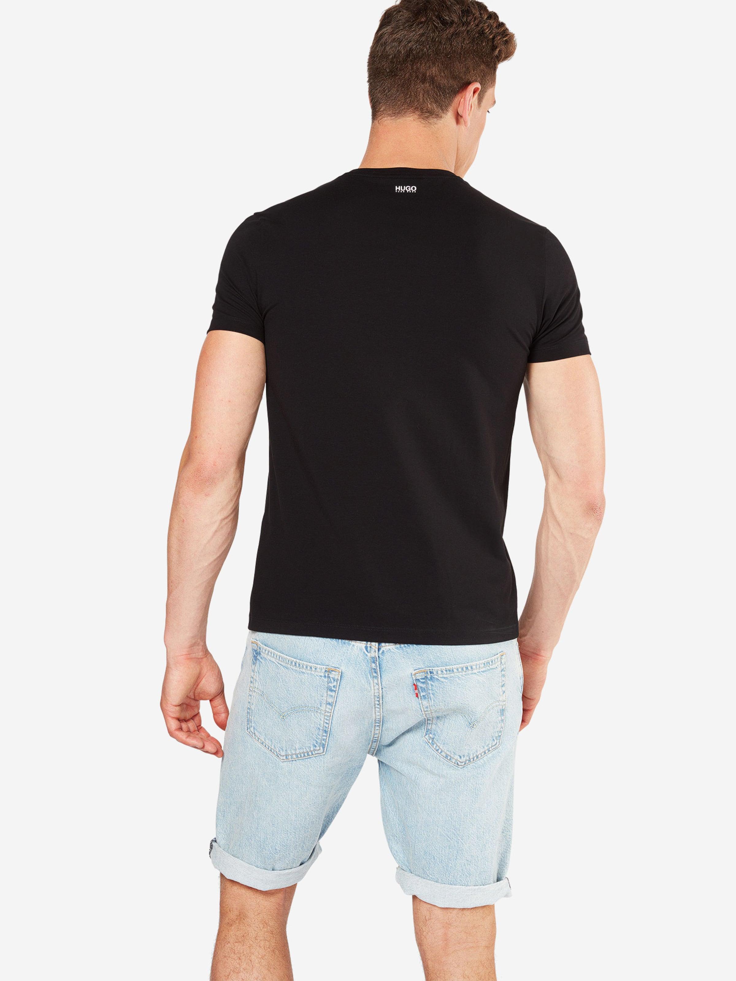 In shirt Im Schwarz Hugo T Doppelpack J3T15KulFc