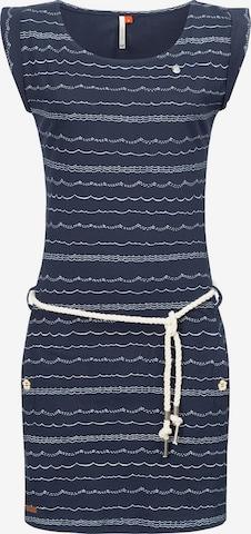 Ragwear Dress 'Tag Waves' in Blue