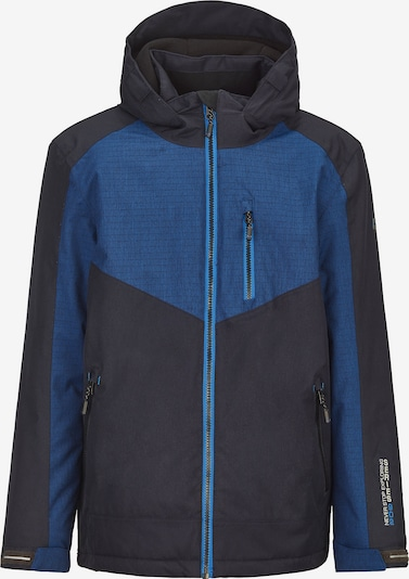 KILLTEC Outdoorjacke 'Radejo' in blau / dunkelblau, Produktansicht