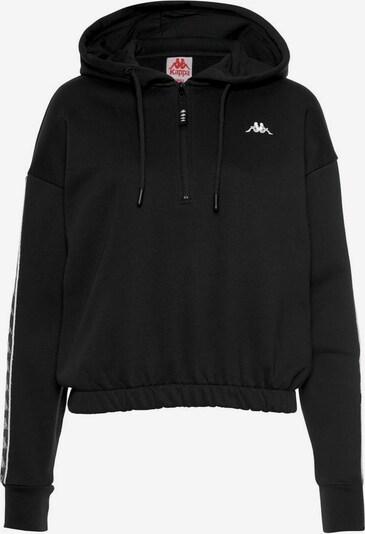 KAPPA Hoodie 'Gamina' in schwarz, Produktansicht