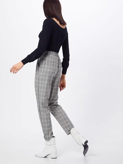Kelnės 'onlCOOL WOOP CHECK PIPING ANK PANT PNT' iš ONLY , spalva - pilka: Vaizdas iš galinės pusės