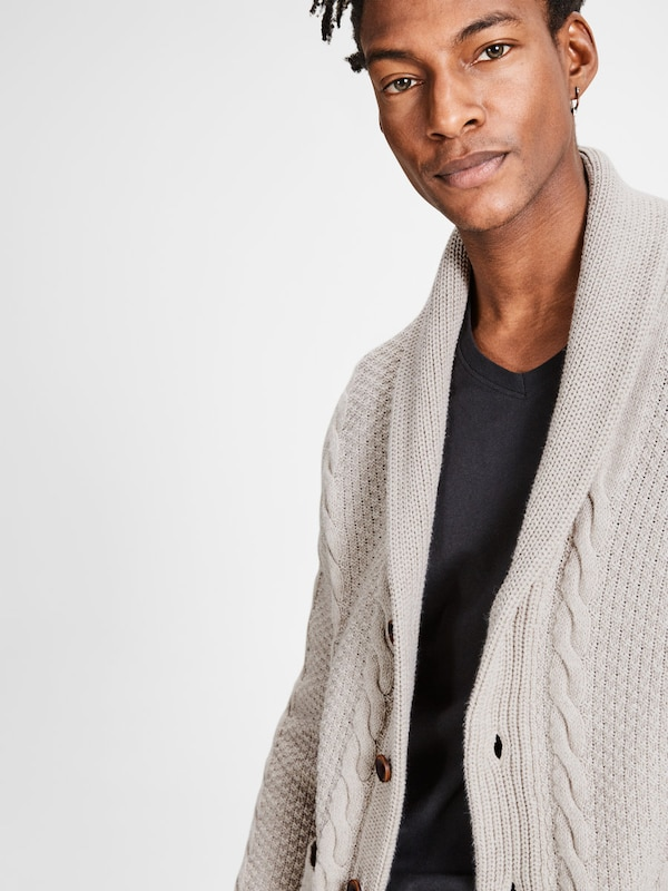 JACK & JONES Klassischer Strick-Cardigan