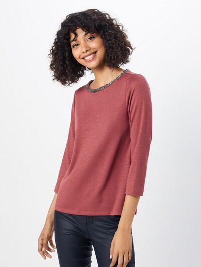 ONLY Shirt in de kleur Roestrood: Vooraanzicht