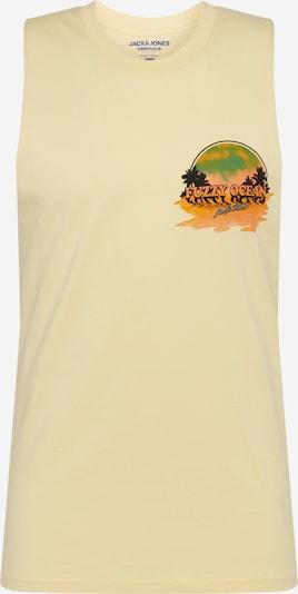 Tricou JACK & JONES pe galben, Vizualizare produs