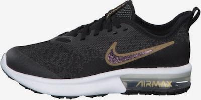 NIKE Sneaker 'Sequent 4' in gold / schwarz / weiß, Produktansicht
