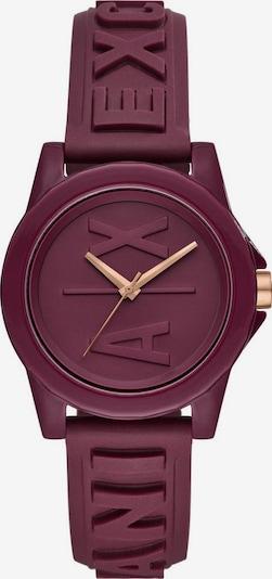 ARMANI EXCHANGE Uhr 'AX4367' in weinrot, Produktansicht