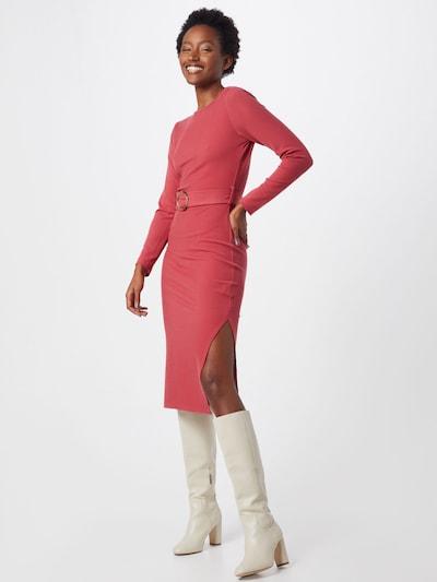 Rochie de seară 'AC2858' GLAMOROUS pe roz: Privire frontală