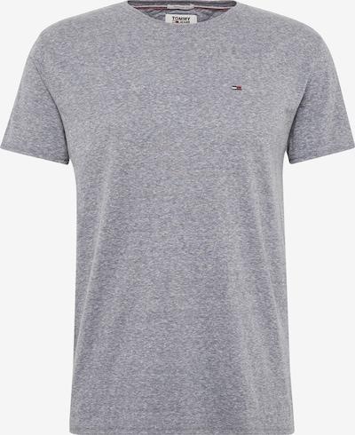 Marškinėliai 'Triblend' iš Tommy Jeans , spalva - melsvai pilka / margai pilka, Prekių apžvalga
