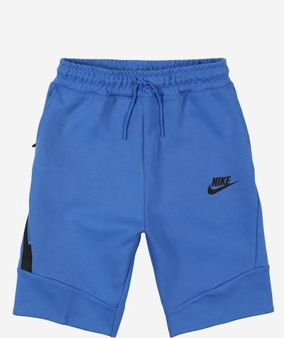 Pantaloni Nike Sportswear pe albastru / negru, Vizualizare produs