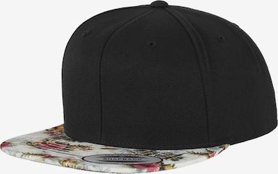 Flexfit Snapback in mint / pink / schwarz / weiß, Produktansicht