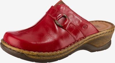 JOSEF SEIBEL Catalonia 57 Komfort-Pantoletten in rot, Produktansicht
