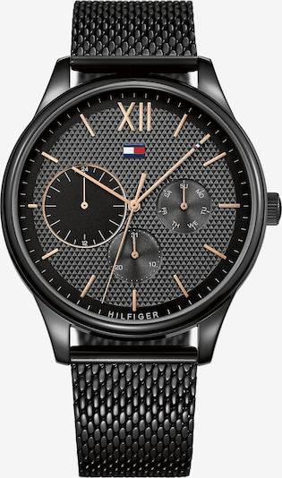 TOMMY HILFIGER Armbanduhr '791420' in gold / schwarz: Frontalansicht