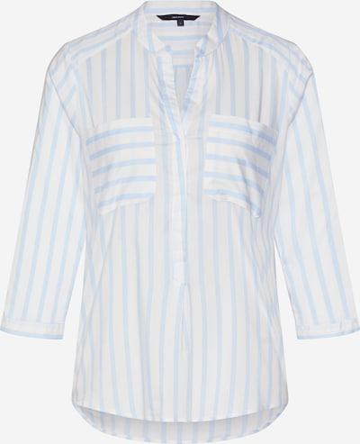 VERO MODA Chemisier 'Erika' en bleu clair / blanc, Vue avec produit