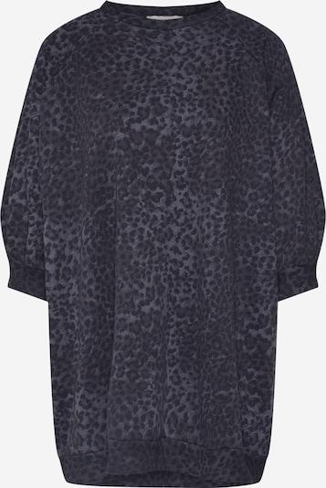 Ragdoll LA Sweatshirt 'Super Oversized Flame Sweatshirt' in grau / schwarz, Produktansicht