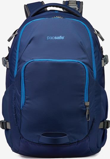 Pacsafe Rucksack 'Venturesafe' in himmelblau / dunkelblau, Produktansicht
