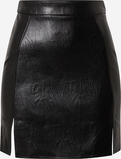 Missguided Rock 'Faux' in schwarz, Produktansicht