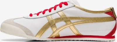 Onitsuka Tiger Sneaker 'Mexico 66' in gold / rot / weiß, Produktansicht