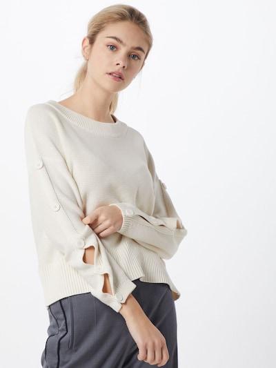 BOSS Pullover 'Wendelin' in weiß, Modelansicht
