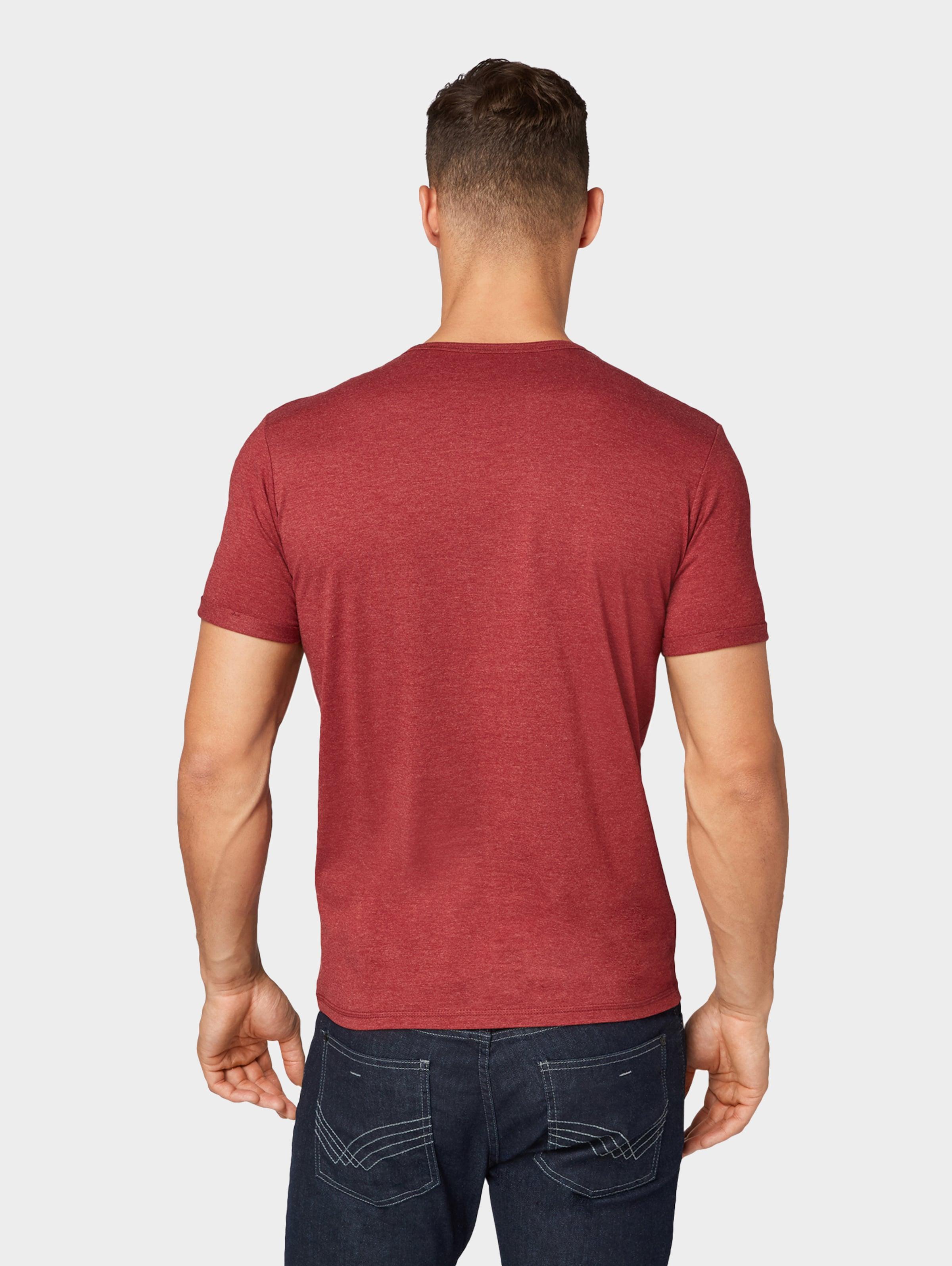 shirt In Tom GoldgelbFeuerrot Schwarz T Tailor UpSqMVz