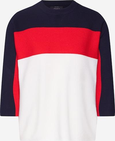 Megztinis iš ONLY , spalva - pastelinė oranžinė / juoda / natūrali balta, Prekių apžvalga