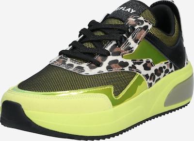 REPLAY Sneaker in gelb / mischfarben, Produktansicht