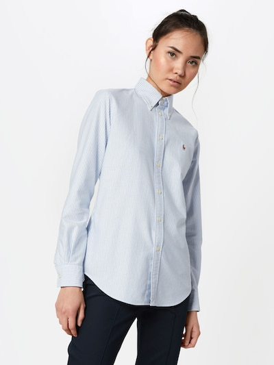 POLO RALPH LAUREN Bluzka w kolorze niebieski / białym, Podgląd na modelu(-ce)