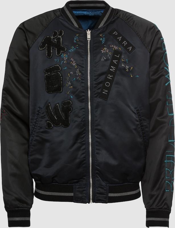 DIESEL Jacke in schwarz  Großer Rabatt