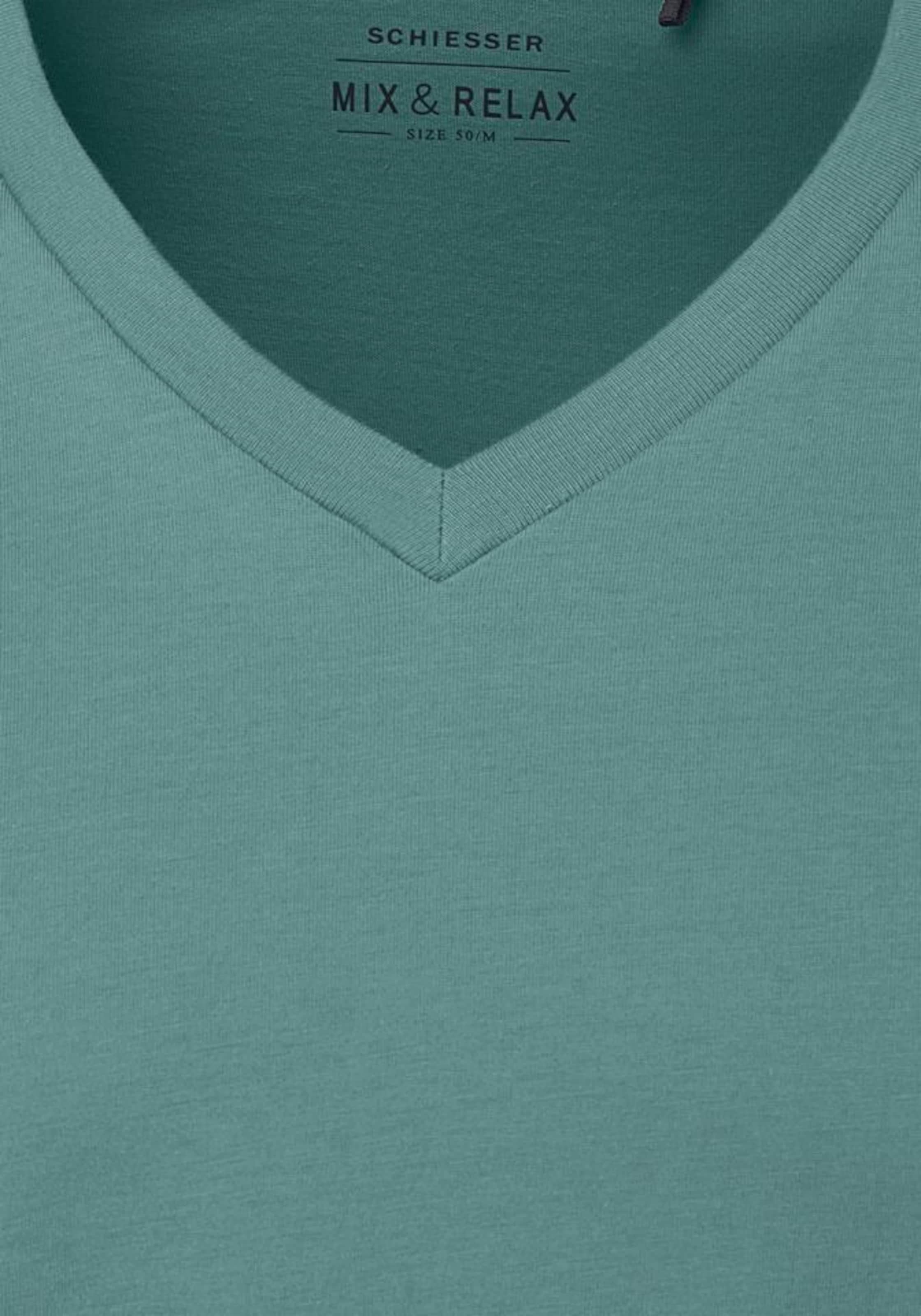 Schiesser neck shirt Opal T Herren V In Mit Nn8mwOv0