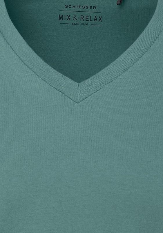 SCHIESSER Herren T-Shirt mit V-Neck