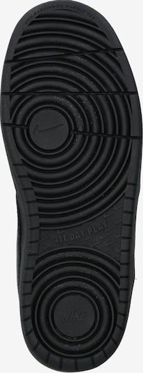 Sportbačiai 'Nike Court Borough Low 2' iš Nike Sportswear , spalva - juoda: Vaizdas iš apačios