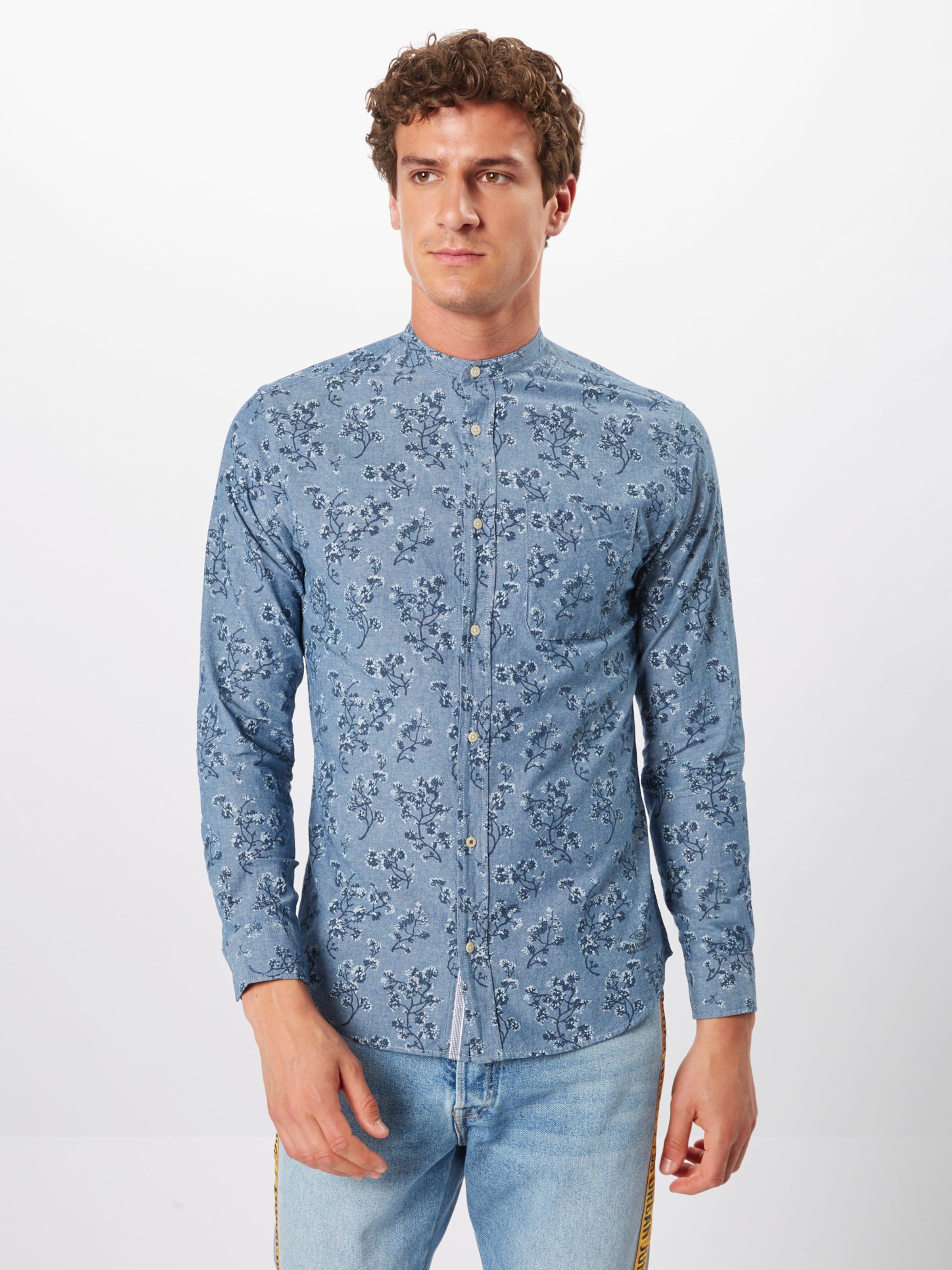 Shirt s Band One Jackamp; Jones 'jprderek Chemise L BleuFoncé En Pocket' QBoEWCerxd