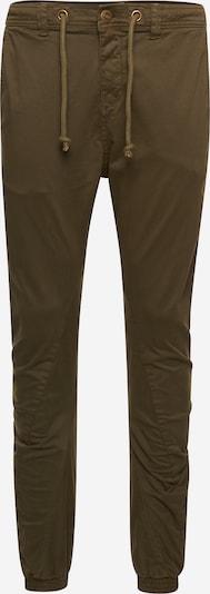 Urban Classics Pantalon en olive, Vue avec produit