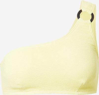 PIECES Bikinitop 'NORA' in gelb, Produktansicht