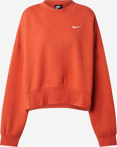 Bluză de molton 'Essentials' Nike Sportswear pe roșu orange, Vizualizare produs
