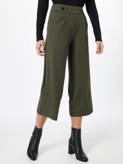 JACQUELINE de YONG Hose 'GEGGO' in dunkelgrün, Modelansicht