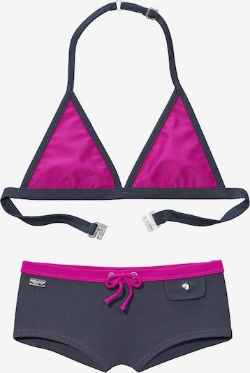 BUFFALO Triangel-Bikini in grau / pink, Produktansicht