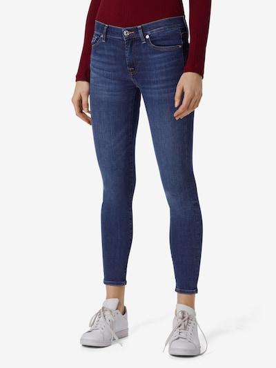 7 for all mankind Jeans 'The Skinny Crop' in blue denim, Modelansicht