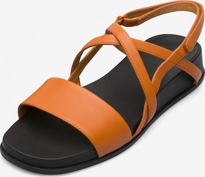 CAMPER Sandales à lanières 'Atonika' en orange foncé, Vue avec produit