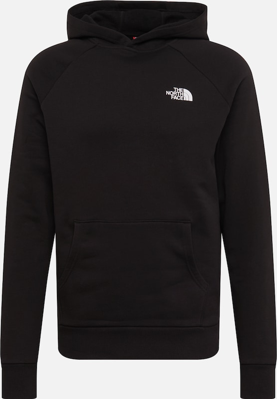 THE NORTH FACE Sweatshirt in schwarz / weiß, Produktansicht