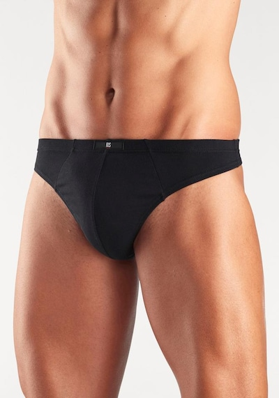 H.I.S Panty in Black / White: Frontal view