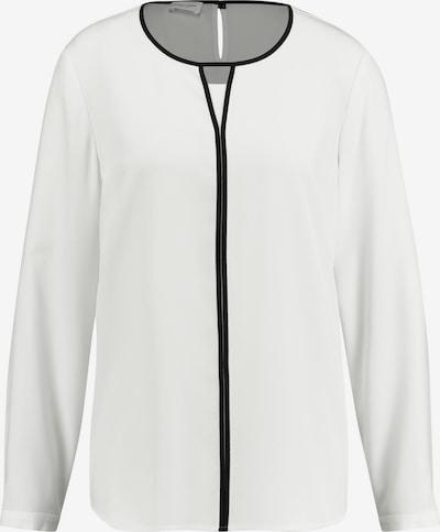 GERRY WEBER Bluse in schwarz / weiß: Frontalansicht