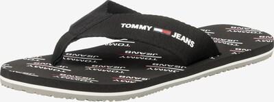 Tommy Jeans Zehentrenner in navy / rot / schwarz / weiß, Produktansicht