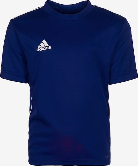 ADIDAS PERFORMANCE Trainingsshirt 'Core 18' in dunkelblau / weiß, Produktansicht