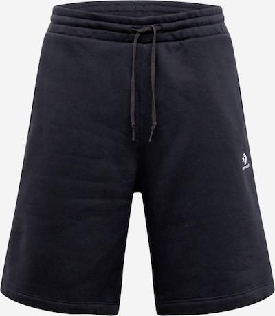 CONVERSE Shorts in schwarz / weiß, Produktansicht